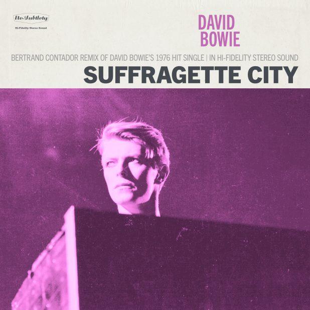 David Bowie - Suffragette City (Bertrand Contador Remix)